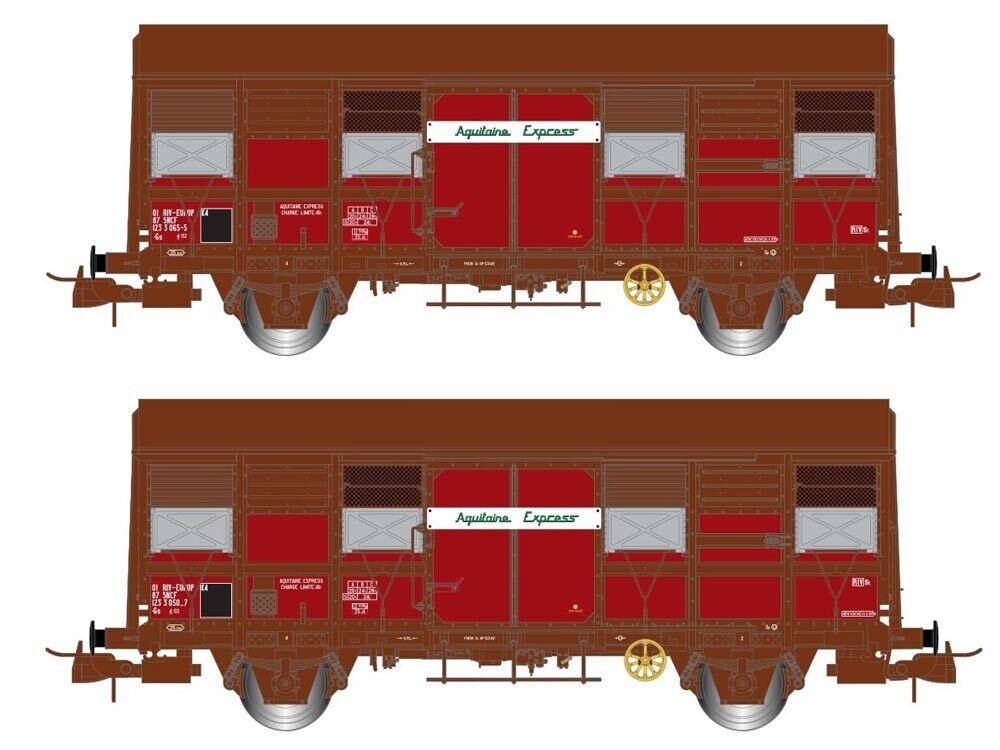 Jouef hj6167 güterwagenset GS 4.02 Provence Express SNCF 2x h0