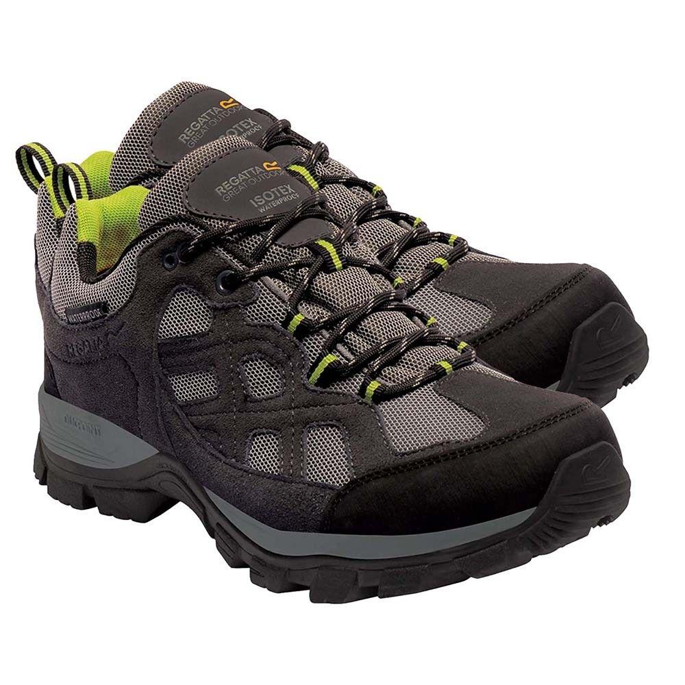Regatta Mens Shoe Walking Toba Briar Outdoor Trainer Waterproof Hiking Briar Toba Green 8ff3eb