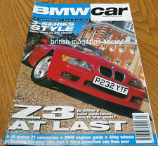 BMW Car March 1997 - BMW Kelleners Z1 E12 M535i E36 3-series