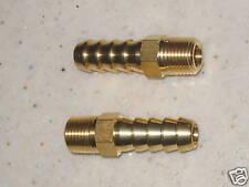 2 x 1/8npt FACET Kraftstoffpumpe Schlauch Adapter Zubehör Gewerkschaften für 8mm Schlauch