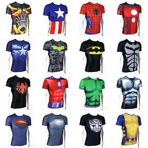 The Avengers Marvel Superhero T-shirt Short Sleeve Cycling Jersey ... 347ac1ab4