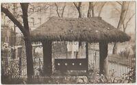 The Stocks, Shoreditch Church, London 1921 RP Postcard B768