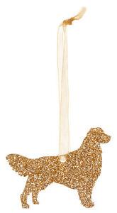 Golden-Retriever-Dog-Style-A-Glitter-Christmas-Decoration-11-colour-choices
