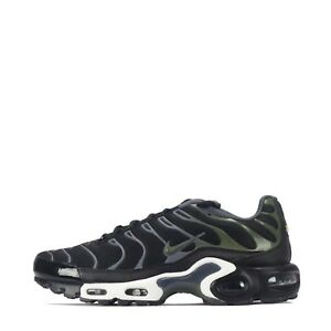 ee2d86f0d5 Nike Air Max Plus TN Tuned Men's Shoes Black/Legion Green | eBay