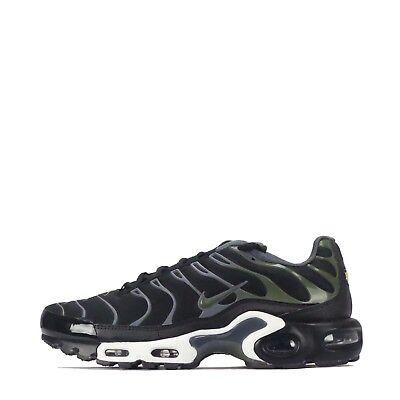 on sale 6a603 a8013 Nike Air Max Plus TN Tuned Men's Shoes Black/Legion Green | eBay