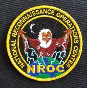 USAF NASA  - NROC - NATIONAL RECONNAISSANCE OPERATIONS CENTER - PATCH