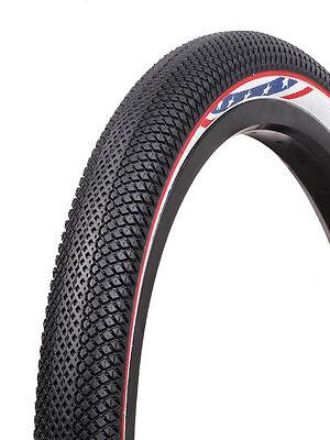 20x1-3//8 Vee Rubber Speedster Folding Kevlar BMX tire 110psi Pink