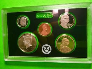 2014 S Lincoln Penny Jefferson Nickel Roosevelt Dime ~ Mint Proof Set of 3 Coins