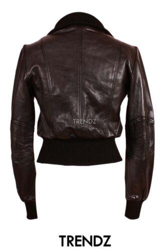 Ladies di in pelle vera Giacca Lopez pelle in di di motociclista sr8122 agnello design nera gTpgrqO