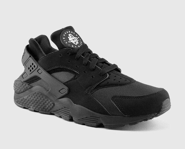 Size 13 - Nike Air Huarache Triple Black 2013