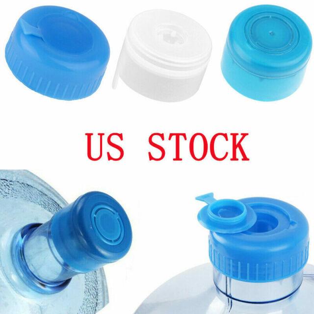 3 and 5 Gallon Water Jug Cap Replacement Anti Splash Non Spill Screw Bottle Caps