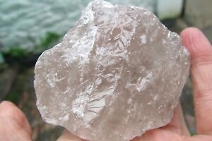 Smokey-Quartz-Healing-Crystal-Natural-ROUGH-Brazil-stone-Rock-Raw-chunk-181g