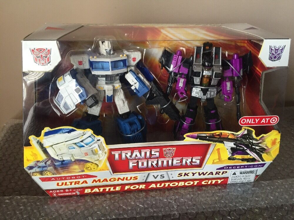 Hasbro Transformers Classics Ultra Magnus Vs Skywarp Raro objetivo exclusivo Misb