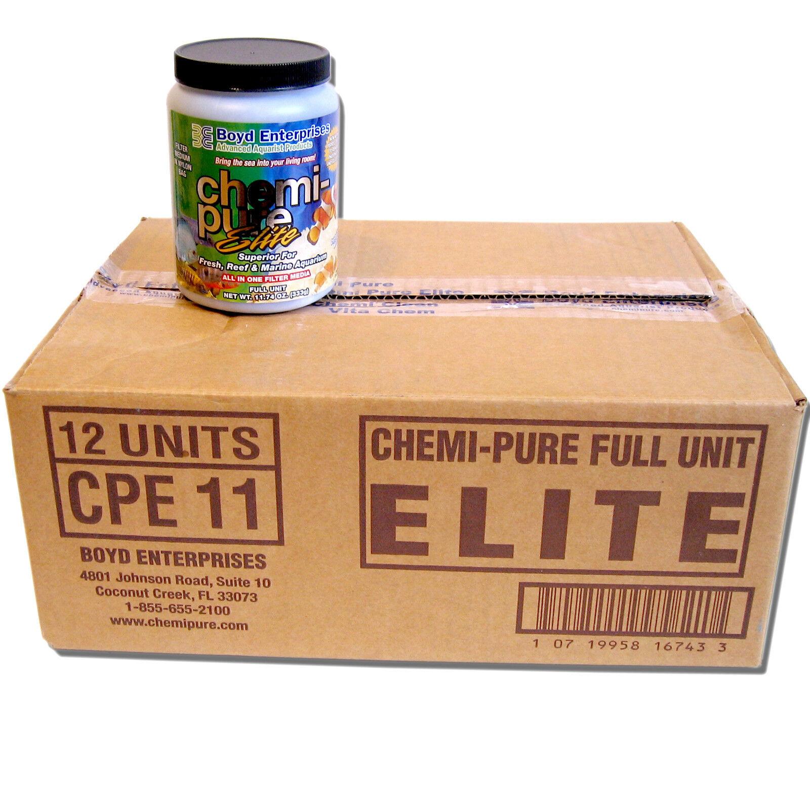 Boyd Chemi Pure Elite 11.74oz Jar 1 DOZEN Bulk Case Free USA Shipping