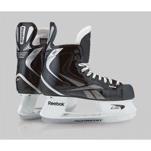 Brand New Reebok 5K ice hockey skates junior jr size 3D recreational skate black