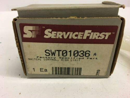 SERVICEFIRST SWT01036 HIGH LIMIT CONTROL SWITCH