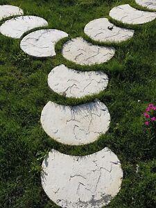 Pavimento Esterno Per Giardino.Dettagli Su Viottolo Per Giardino Pavimento Esterno Pavimento Giardino Viottolo In Cemento