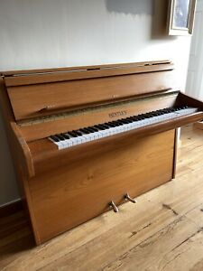 Outstanding Oak / Teak Small Six Octave Upright Piano Guaranteed & Delivered