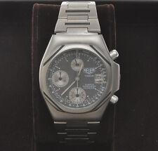 Heuer Titanium mechanical quartz chronograph, vintage 1985, exc+++