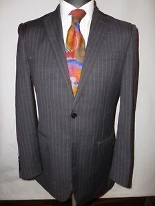 "Herrenmode Savoy Taylors Guild Grey Pure Wool Suit Uk 40 Waist 32""/ 30.5"" Leg Um 50 Prozent Reduziert Kleidung & Accessoires"