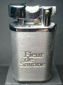 Vintage-LIGHTER-FLEURE-DE-SAVANE-YIBAO-Lift-Arm-Silver-Lighter