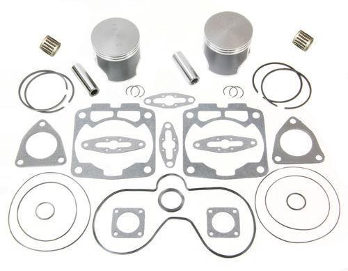 2000 Polaris 600 Touring SPI Pistons Bearings Gaskets Top End Rebuild Kit Std