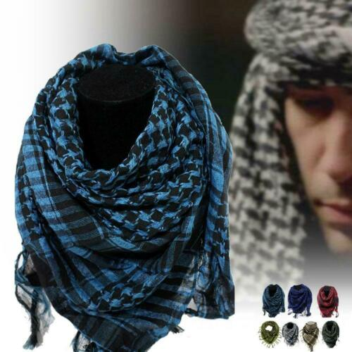 Arab Shemagh Keffiyeh Military Tactical Palestine Scarf Shawl Kafiya Wrap Hot BR