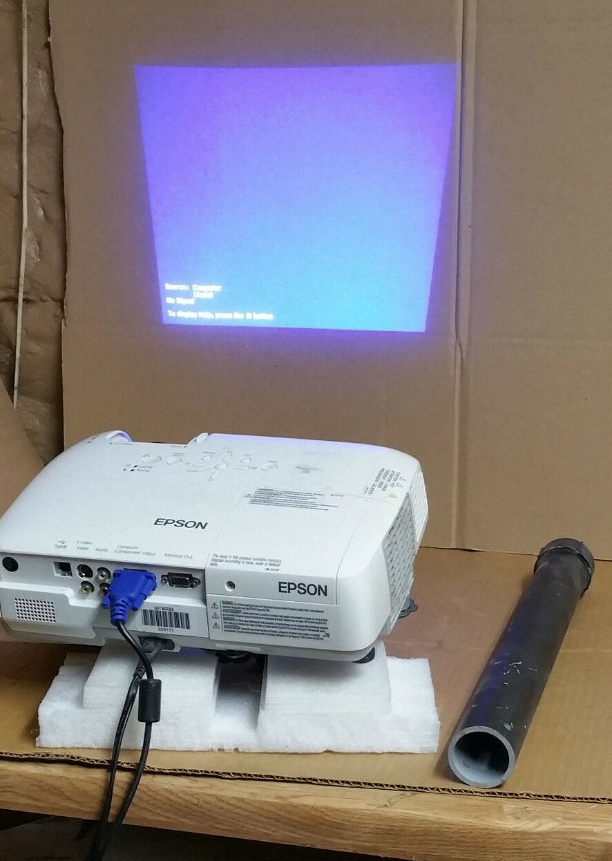 Epson PowerLite 78 LCD Projector HD 1080i interactive smart board SB660 SB680