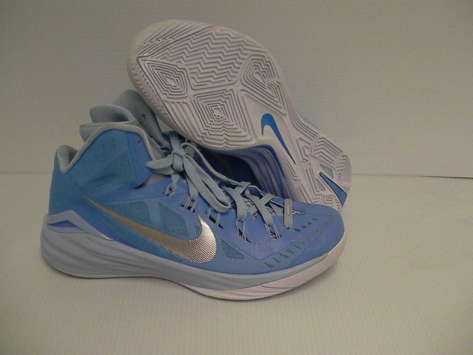 Nike hyperdunk blue baskeball shoes blue hyperdunk silver size 10 f2a7f3