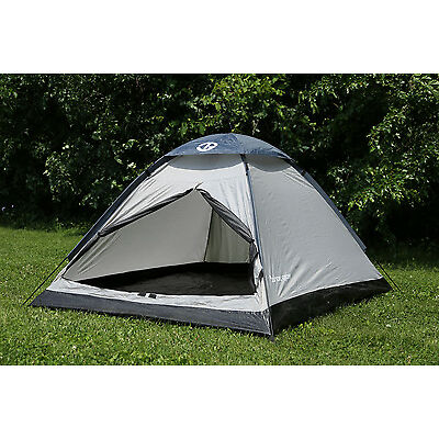 Tahoe Gear Willow 2 Person 3-Season Family Dome Camping Tent - Black/Grey