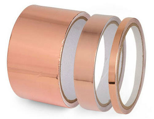 High Quality Conductive Copper Tape For Shielding - Set of 3
