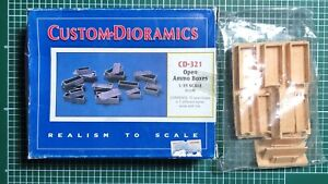 AgréAble Custom Dioramics Cd-321 - Open Ammo Boxes - 1/35 Resin Kit Bon GoûT