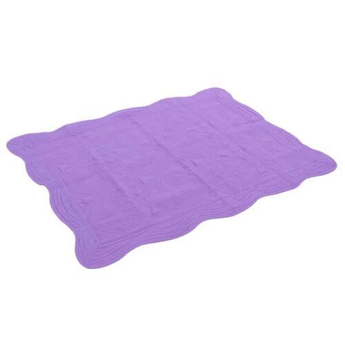 "Toddler Kids Bed Blanket Crib Baby Quilt Lightweight Cotton Embossed 36/""x46/"""