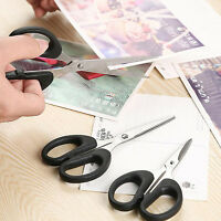 New Stainless Steel Scissor Office Home School Childrens Paper-cut Scissors