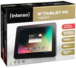 Intenso-TAB-814-Tablet-PC-8-Zoll-anthrazit-E-Book-Reader-WLAN-Android-4-1