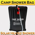 20L Craig Camp Shower Bag Solar Heated Water Pipe Portable Camping Hiking Travel