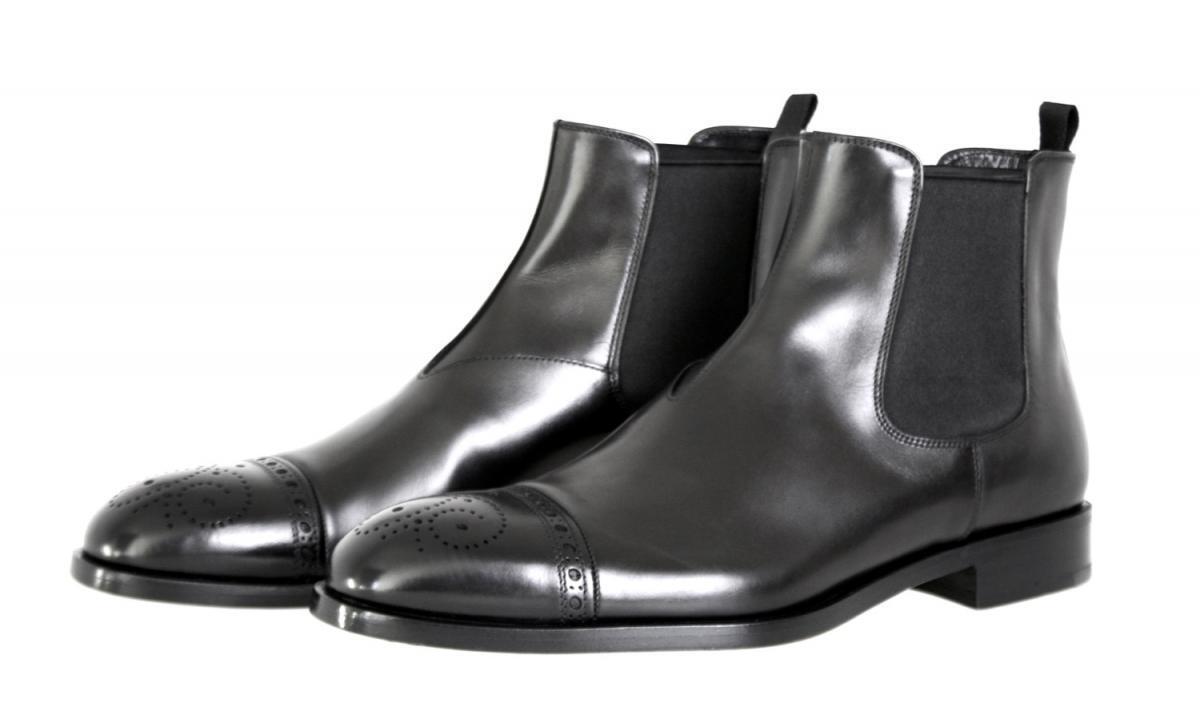 Lujo prada Budapester botín zapatos 2tb021 negro nuevo New 7 41 41,5