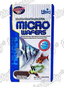 45g Hikari Tropical Micro Wafers Fish Food Slowly Sinking