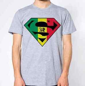 Lion T-Shirt Rasta Top Reggae Africa Cannabis Weed High Jamaica Tee Rastafari