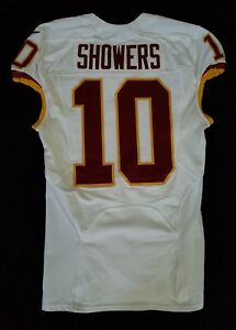 10-Valdez-Showers-of-Washington-Redskins-NFL-Game-Issued-Player-Worn-Jersey