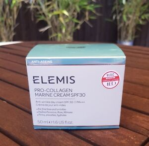 Elemis Pro-collagen Marine Cream Spf30 Anti-wrinkle 50ml Boxed