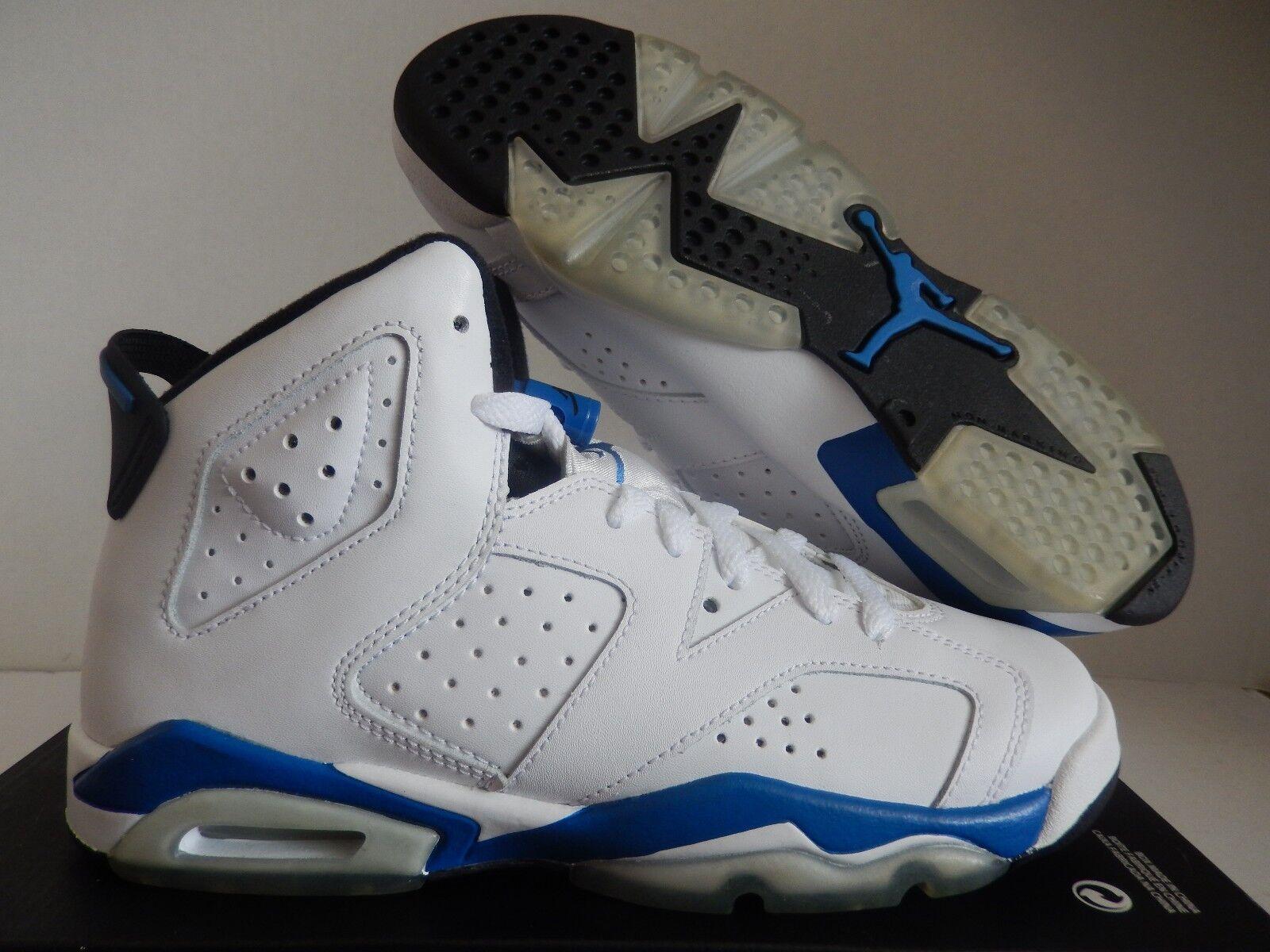Nike Air Jordan 6 6 6 RETRO BG blancoo-Sport azul Sz 4.5Y - Para Mujer Talla 6  orden ahora con gran descuento y entrega gratuita
