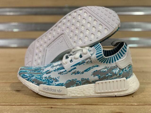 Adidas NMD R1 Sneakersnstuff Datamosh Clear Aqua Pre Owned