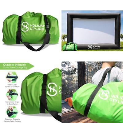 Outdoor Inflatable 16 feet Movie Screen Projector Storage Bag by Holiday Styling