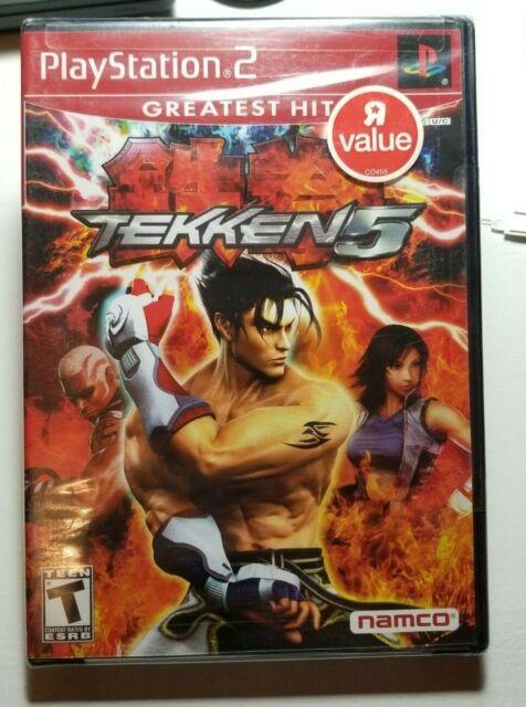 Tekken 5 Sony Playstation 2 2005 For Sale Online Ebay