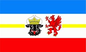 Memorabilia Mecklenburg Vorpommern Fahnen Flagge Fahne Flaggen XXL 2,50x1,50m Neuware Sammeln & Seltenes