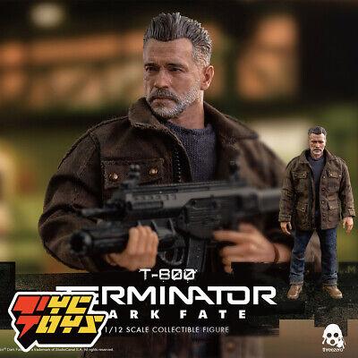 Threezero 3Z0152 T-800 Old Arnold Schwarzenegger Soldier Mini Figure 1//12 Scale