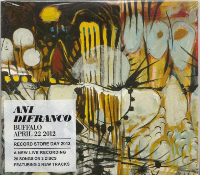 Ani Difranco – Buffalo April 22 2012, 2CD New
