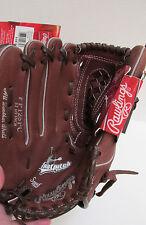 "NEW NWT Rawlings Fastpitch Softball Girls LH Glove F125PC 12 1/2"" Leather Glove"