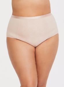 Torrid   Nude Microfiber 360 Smoothing Brief Panty   NWT  sz 3  plus